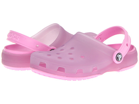 Crocs Kids - Chameleons Translucent Clog (Toddler/Little Kid) (Lavender/Carnation) Girls Shoes