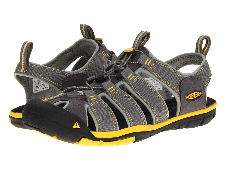 Keen - Clearwater CNX (Gargoyle/Super Lemon) Men's Shoes