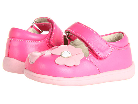 See Kai Run Kids - Indigo (Infant/Toddler) (Hot Pink) Girls Shoes