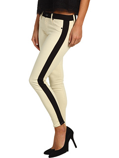 SALE! $128.7 - Save $69 on Hudson Leeloo Super Skinny Crop (Bone) Apparel - 35.00% OFF $198.00