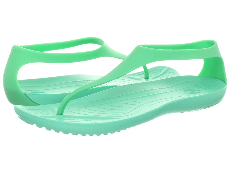 Crocs - Sexi Flip (Island Green/Island Green) Women