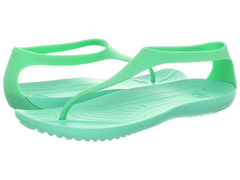 Crocs - Sexi Flip (Island Green/Island Green) Women's Sandals