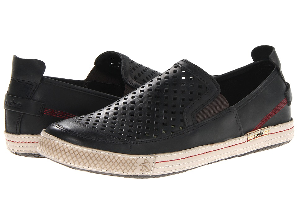 Cushe - Shumaker Mark Slip-On (Black) Men's Slip on Shoes