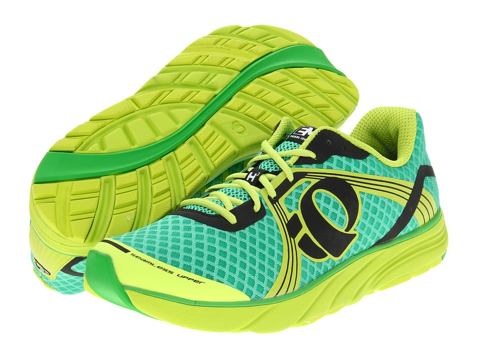 Pearl Izumi - Em Road H 3 (Fairway/Lime) Men's Running Shoes