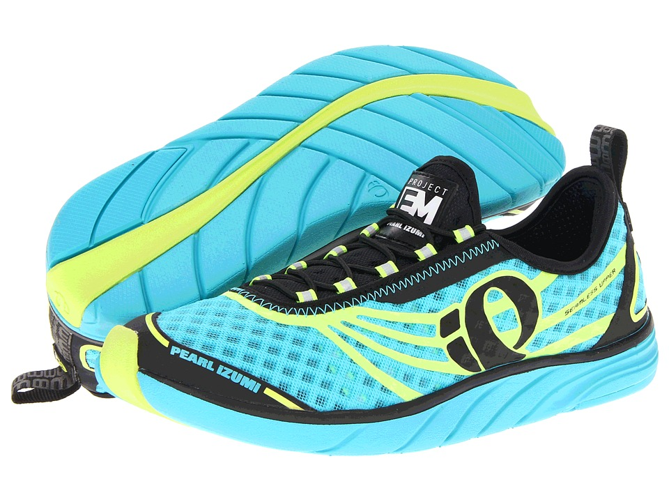 Pearl Izumi - Em Tri N 1 (Scuba Blue/Screaming Yellow) Women's Running Shoes