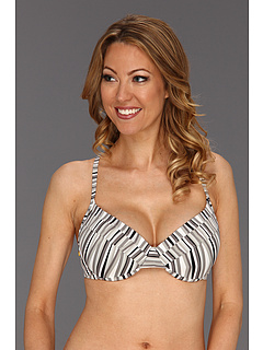 SALE! $14.99 - Save $33 on Lole Kapiti Underwire Top D Cup (Black Stripes) Apparel - 68.77% OFF $48.00