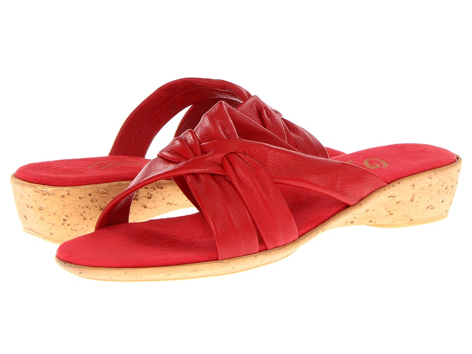 Onex - Sail (Red) Women's Wedge Shoes