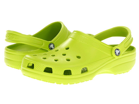 Crocs - Classic (Cayman) - Unisex (Volt Green) Clog Shoes