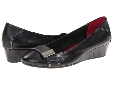 Hush Puppies - Candid Pump OR (Black Leather) Women