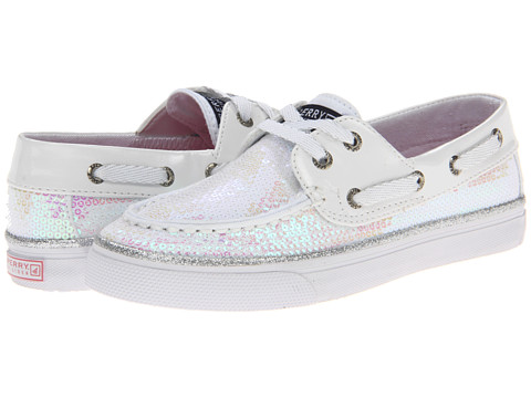 Sperry Top-Sider Kids - Bahama (Little Kid/Big Kid) (White Iridescent) Girls Shoes