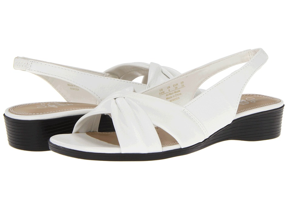 LifeStride - Mimosa (White Duncan) Women's Sandals