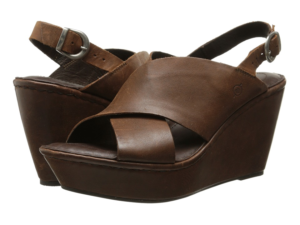 Born Emmy (Whiskey Brown Full Grain Leather) Women