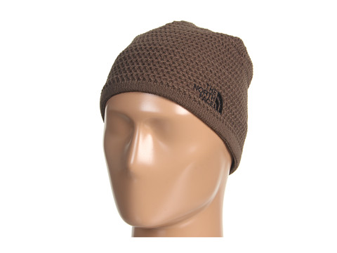 The North Face - Wicked Beanie (Weimaraner Brown/TNF Black/TNF Black) Beanies