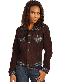 SALE! $111.99 - Save $258 on Scully Ladies Loretta Jacket Butter Soft Suede Jacket (Espresso) Apparel - 69.73% OFF $370.00