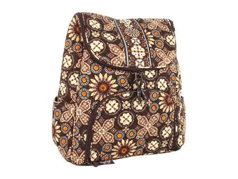 Vera Bradley - Double Zip Backpack (Canyon) Backpack Bags
