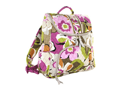 Vera Bradley - Double Zip Backpack (Portobello Road) Backpack Bags