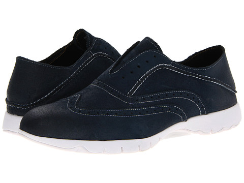 Hush Puppies - FIVE-Brogue (Navy Suede) Men's Lace up casual Shoes