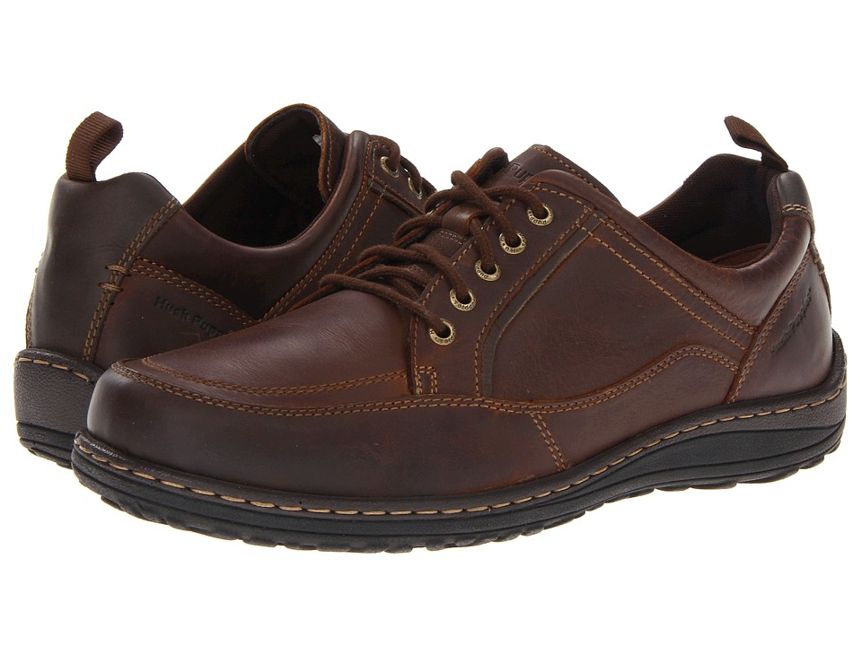 Hush Puppies Belfast Oxford MT Brown Leather Men's Lace up casual Shoes