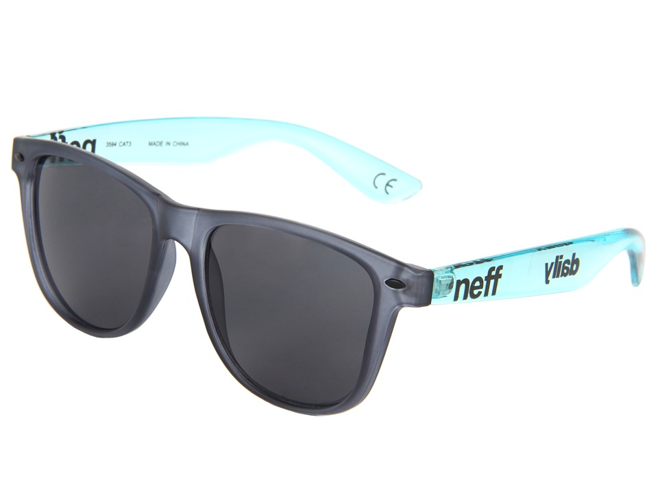 Neff - Daily Shades (Black/Ice) Sport Sunglasses