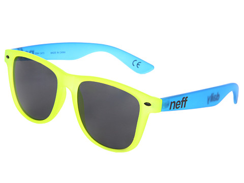 Neff - Daily Shades (Yellow/Blue) Sport Sunglasses