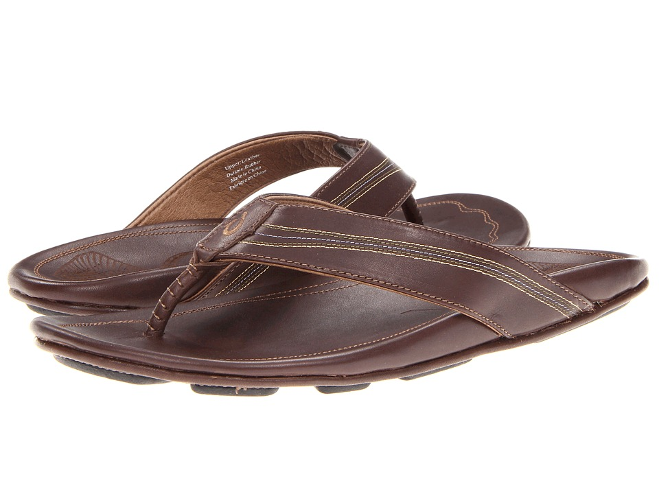 OluKai - Manini (Dark Java/Dark Java) Men's Sandals