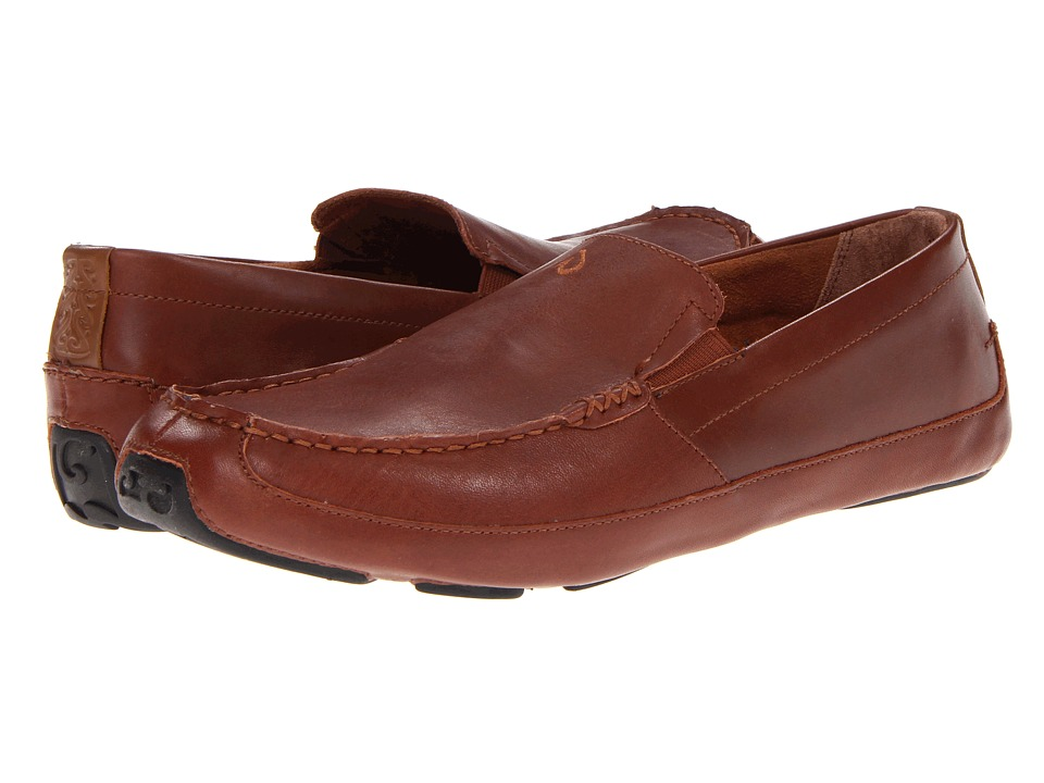OluKai - Akepa Moc (Saddle/Saddle) Men's Shoes