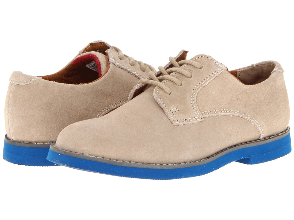 Florsheim Kids - Kearny Jr. (Toddler/Little Kid/Big Kid) (Gaucho/Blue Sole) Boys Shoes