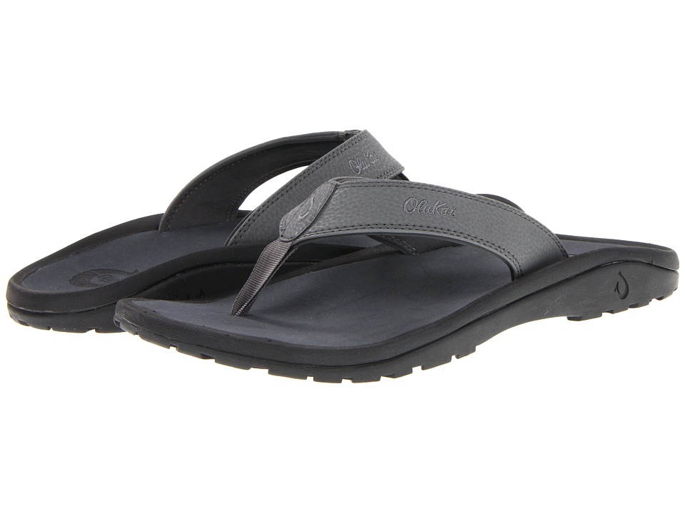 OluKai - Ohana (Charcoal/Dark Shadow) Men's Sandals
