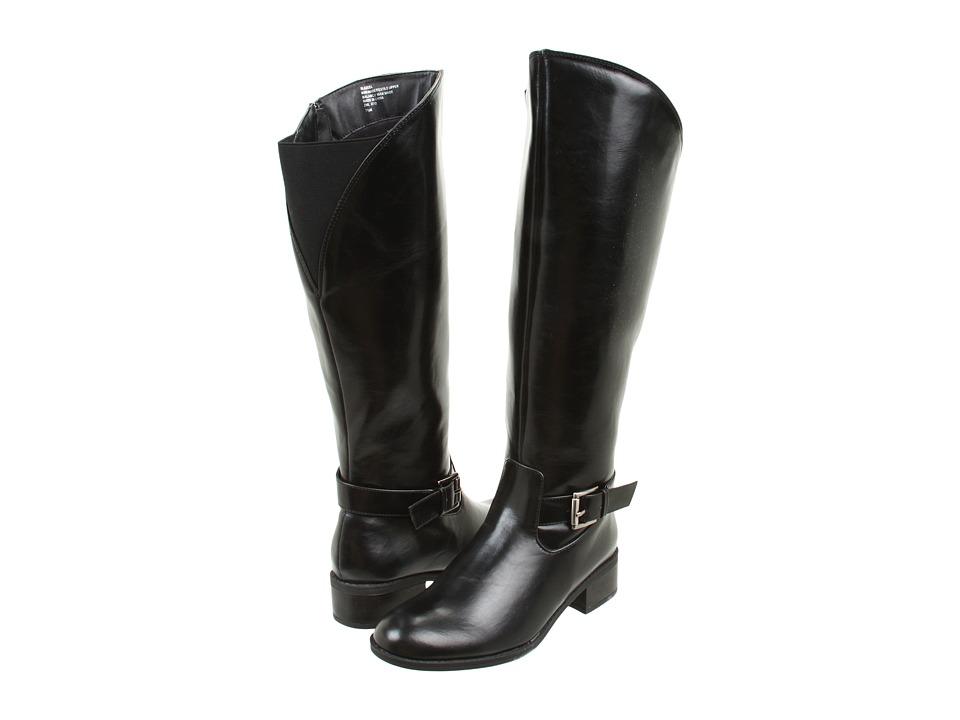 Sam & Libby - SLAzeel Sy (Black/Black Sy) Women's Zip Boots