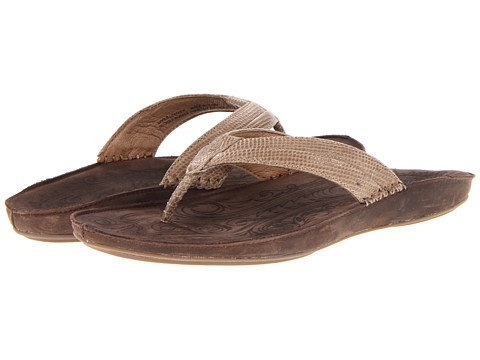 OluKai - Haiku Elua W (Clay/Dark Java) Women's Sandals