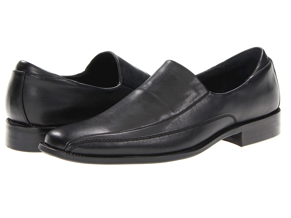 Kenneth Cole Unlisted - Seat U There (Black) Men's Slip on Shoes
