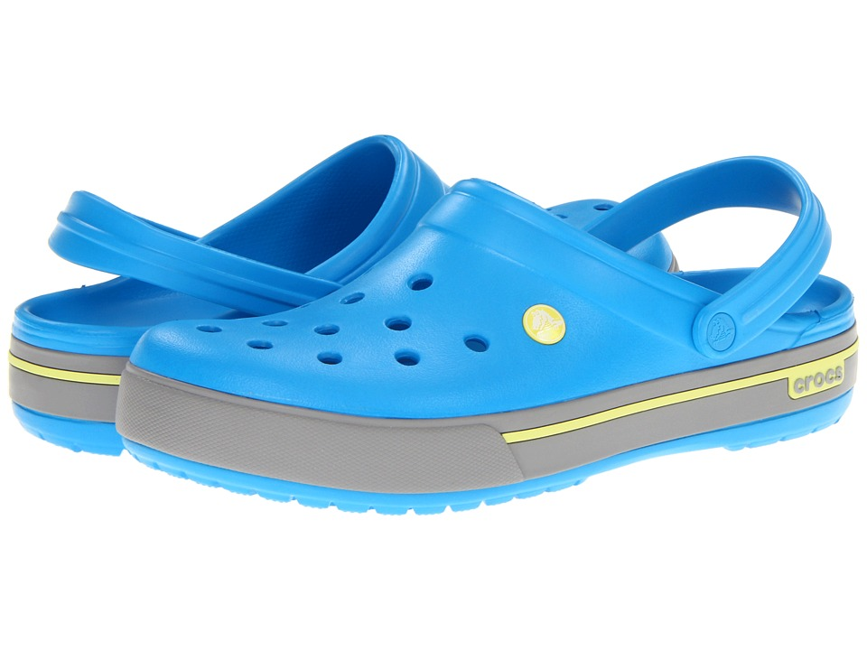 5e7caae1074c Crocs Crocband II.5 Clog Shoes (Blue) on PopScreen