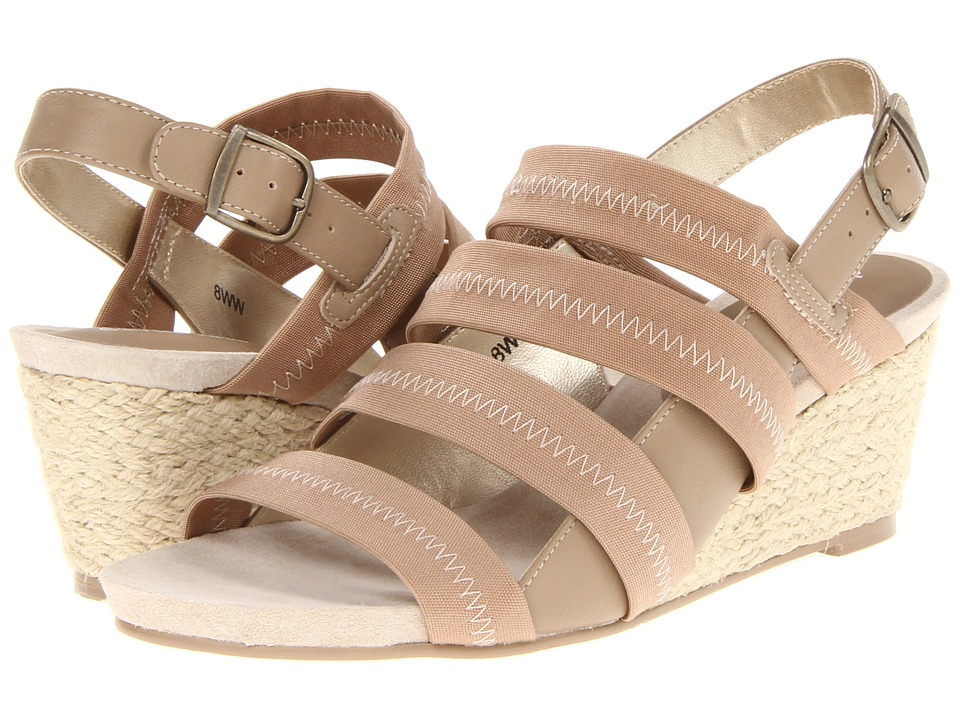 David Tate - Allie (Natural) Women's Wedge Shoes