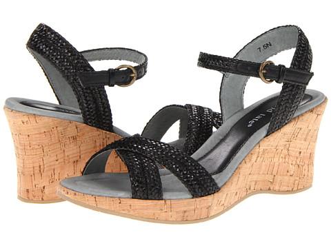 David Tate - Bailey (Black) Women's Wedge Shoes