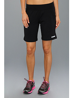 SALE! $27 - Save $18 on ASICS Abby Long Short (Black Black) Apparel - 40.00% OFF $45.00