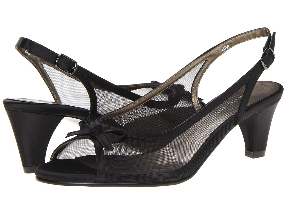David Tate - Prom (Black) Women's Sling Back Shoes