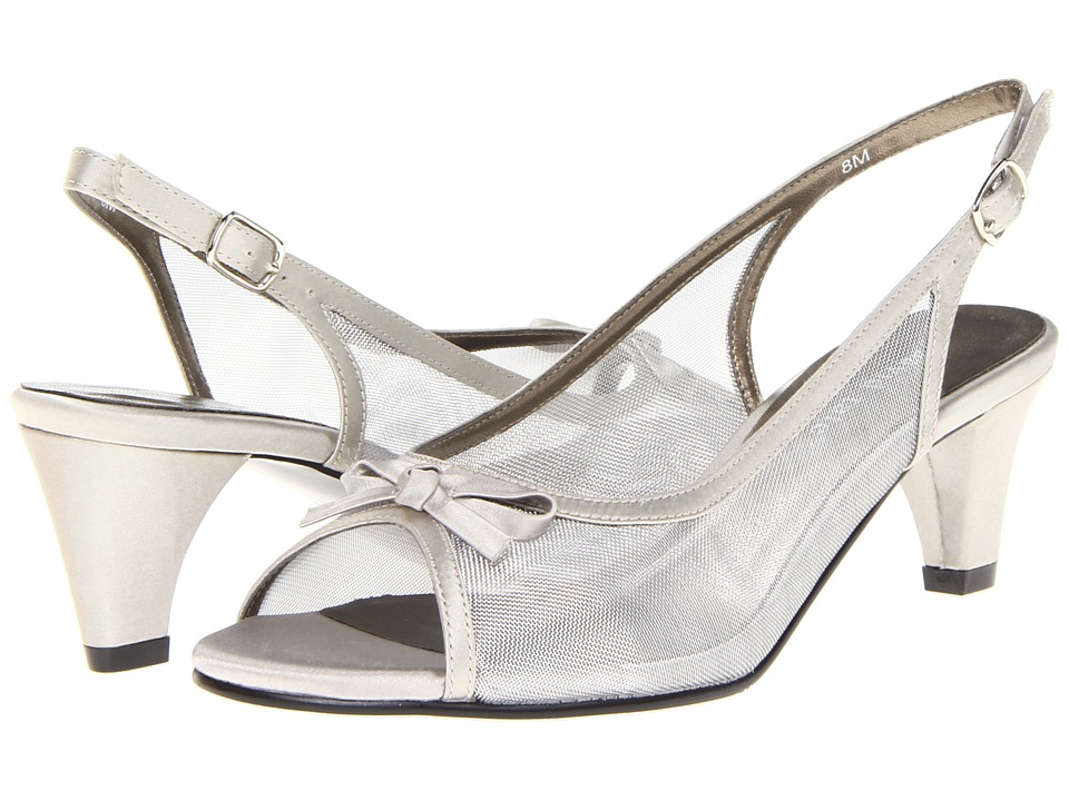 David Tate - Prom (Silver) Women's Sling Back Shoes