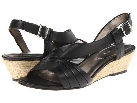 David Tate - Caress (Black) Women's Wedge Shoes