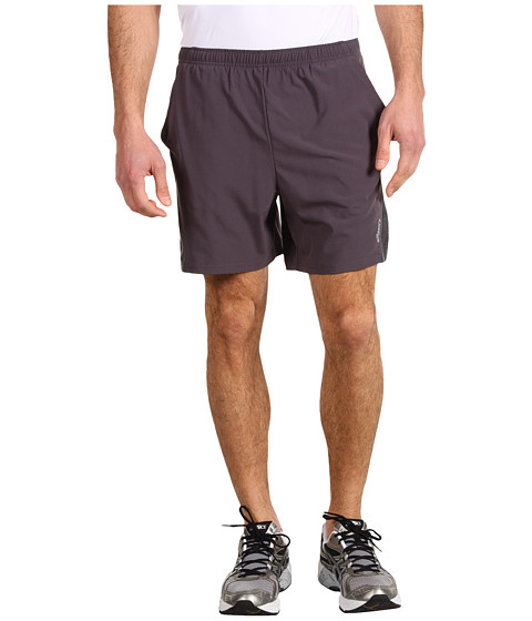 ASICS - Asics 2-N-1 Short (Steel/Stealth Gray/Stealth Gray) Men's Shorts