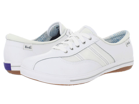 keds white leather sneakersemblaze