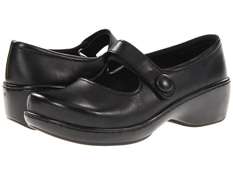 Klogs - Ashley (Black Smooth) Women's Maryjane Shoes