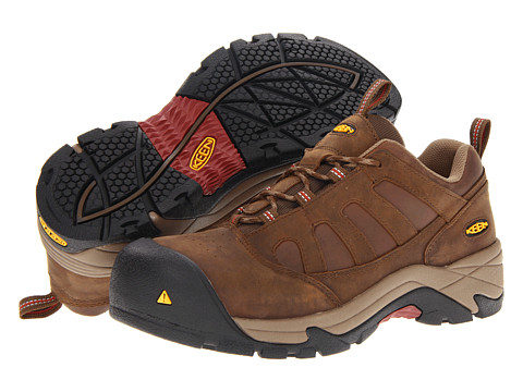 Keen Utility - Lexington AL (Dark Earth) Men's Work Lace-up Boots