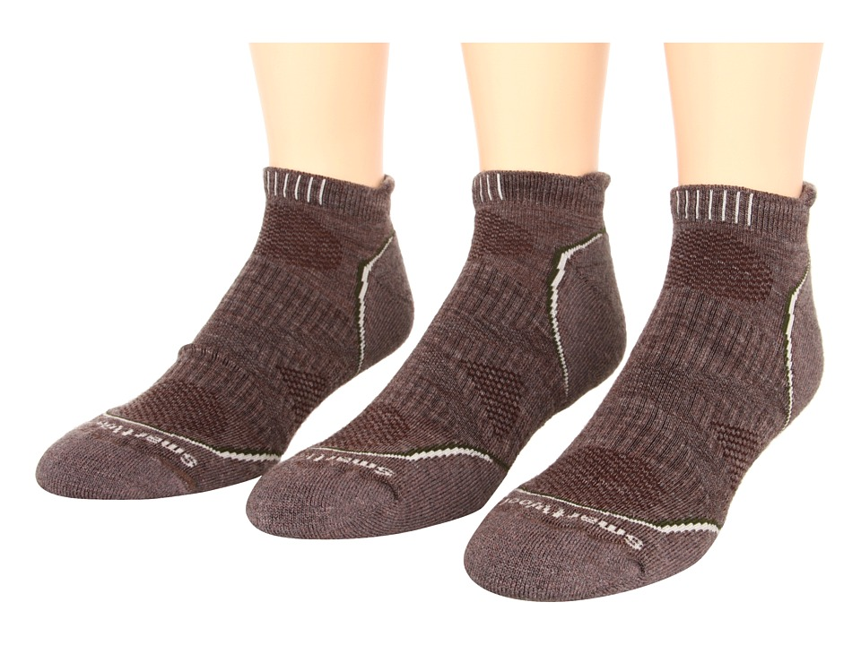 Smartwool - PhD Outdoor Light Micro 3-Pack (Taupe) Men's Crew Cut Socks Shoes