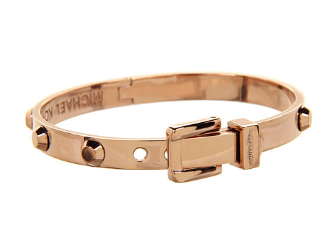 Michael Kors - Astor Buckle Bangle (Rose Gold) Bracelet