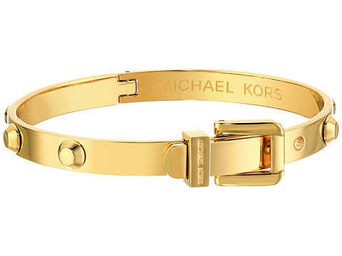 Michael Kors - Astor Buckle Bangle (Gold) Bracelet