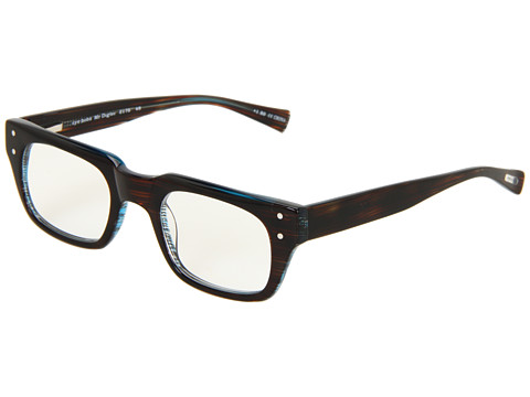 eyebobs - Mr. Digler Readers (Brown Stripe/Aqua Back) Reading Glasses Sunglasses