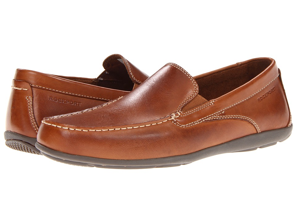 Rockport - Cape Noble 2 Venetian (Tan) Men's Slip on Shoes