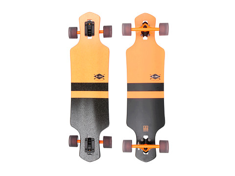 Globe - Geminon 35 (Fluoro Orange/Black) Skateboards Sports Equipment
