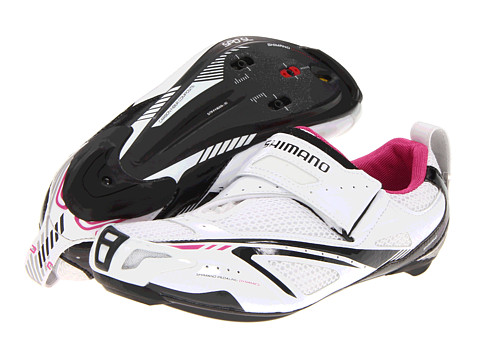 Shimano - SH-WT60 (White Pink) Women's Cycling Shoes