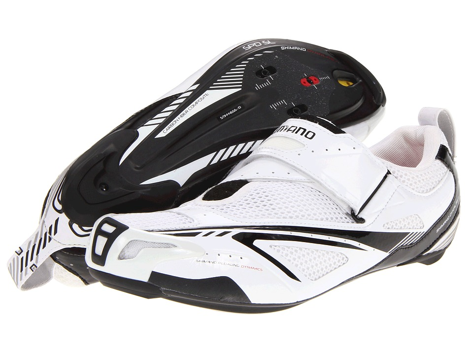 Shimano - SH-TR60 (White/Black) Men's Cycling Shoes